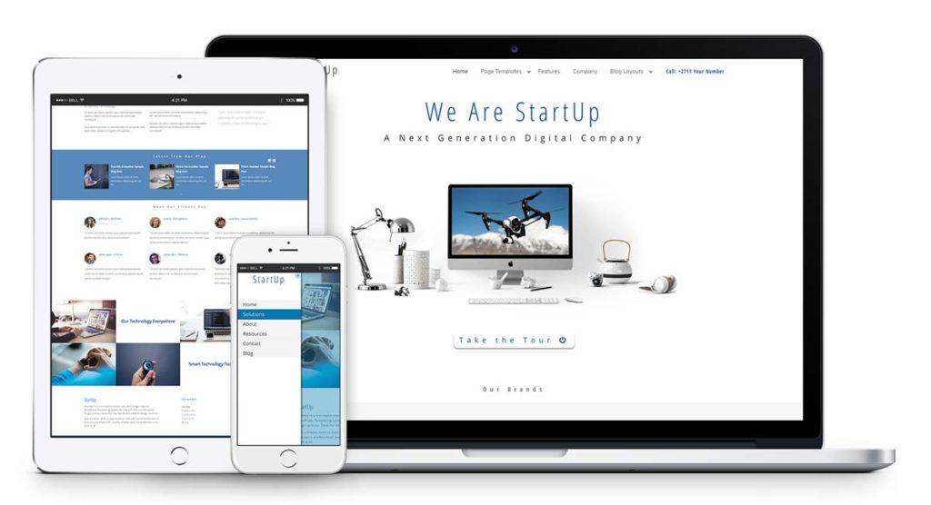 Responsive-Website-Demo